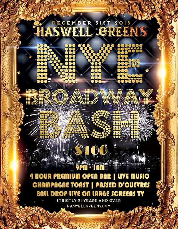 New Years Eve at Haswell Greens